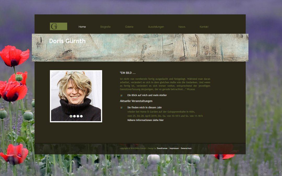 Webseite | Doris Guernth